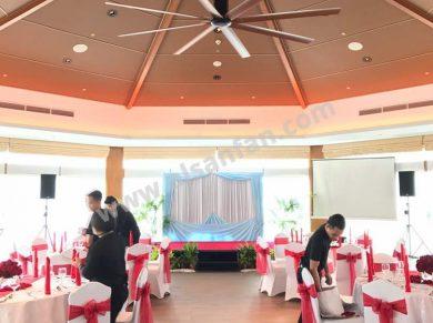 düğün salonu havalandırma