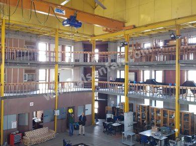 ceiling fan for university workshop