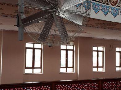 Masjid (Mosque) Pivot Ceiling Fans Applications, Masjid (Mosque) Pivot HVLS Fans Applications