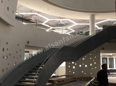 Profan İstanbul - Hotel Lobi Tavan Vantilatörü ve Tavan Pervanesi 05