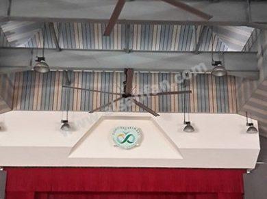 Okul Tavan Vantilatörleri, Okul Tavan Fanları Uygulaması