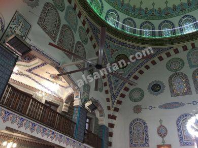 mosque ceiling fans