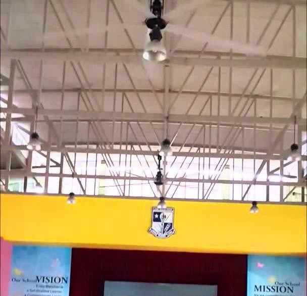 school hall sports hall ceiling fans alsanfan. Black Bedroom Furniture Sets. Home Design Ideas