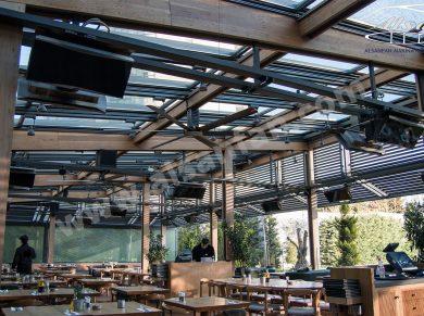 restaurant tavan vantilatörü