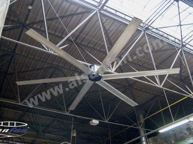 manufacturing hvls fans
