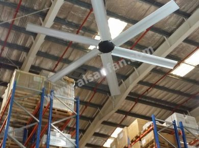 warehouse hvls ceiling fan
