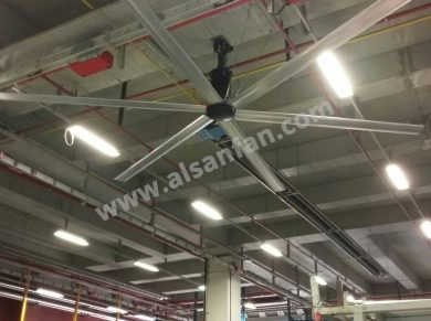 hvls fan for heavy industry