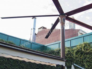 bahçe için hlvs direk fanı uygulaması