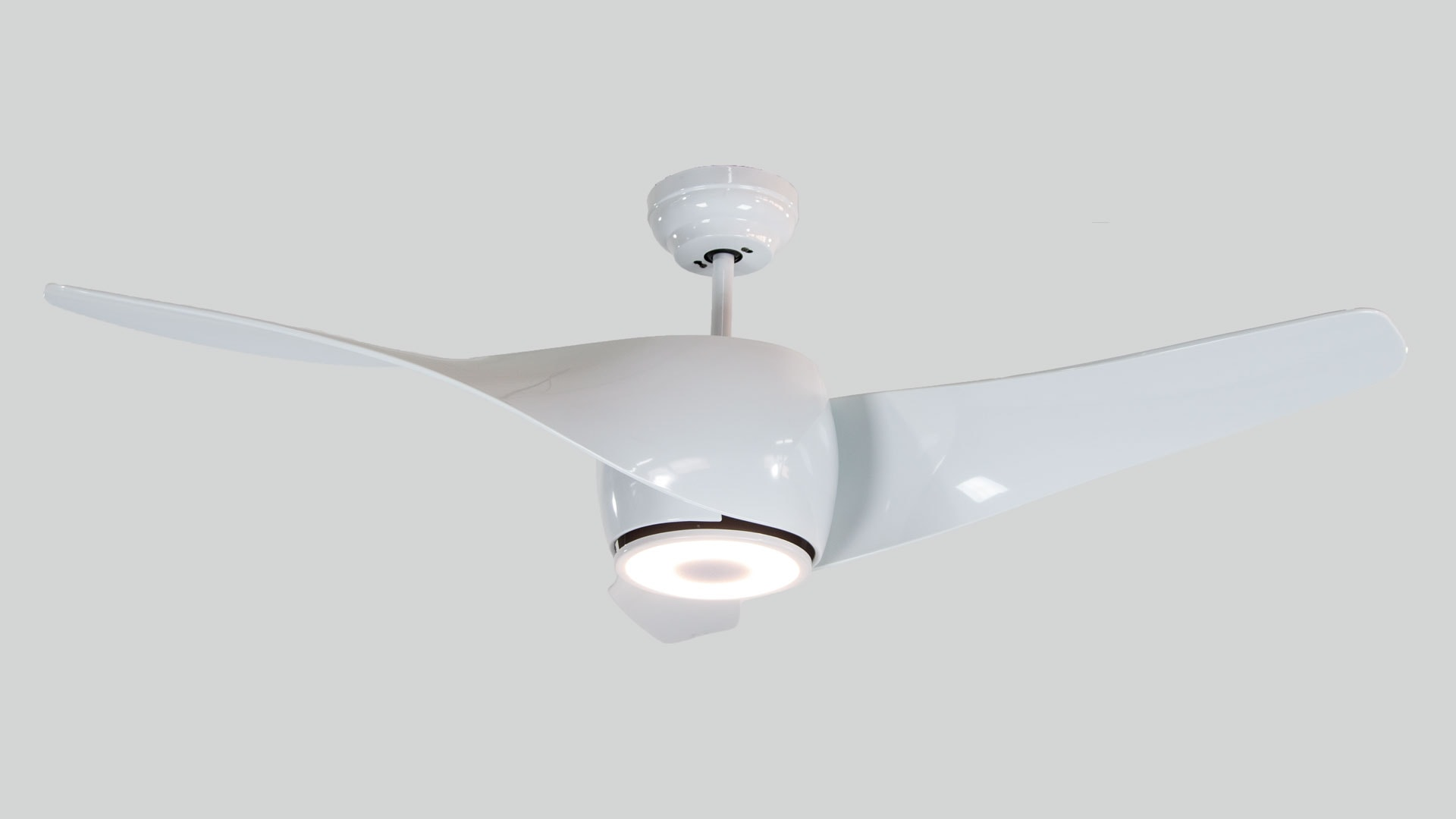 Profan Active - White, With Light (Bluetooth Speaker) Ceiling Fan