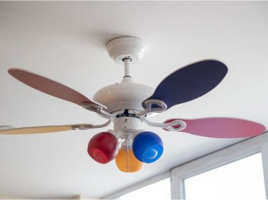 Profan Funny - Children (Baby) Room Ceiling Fan