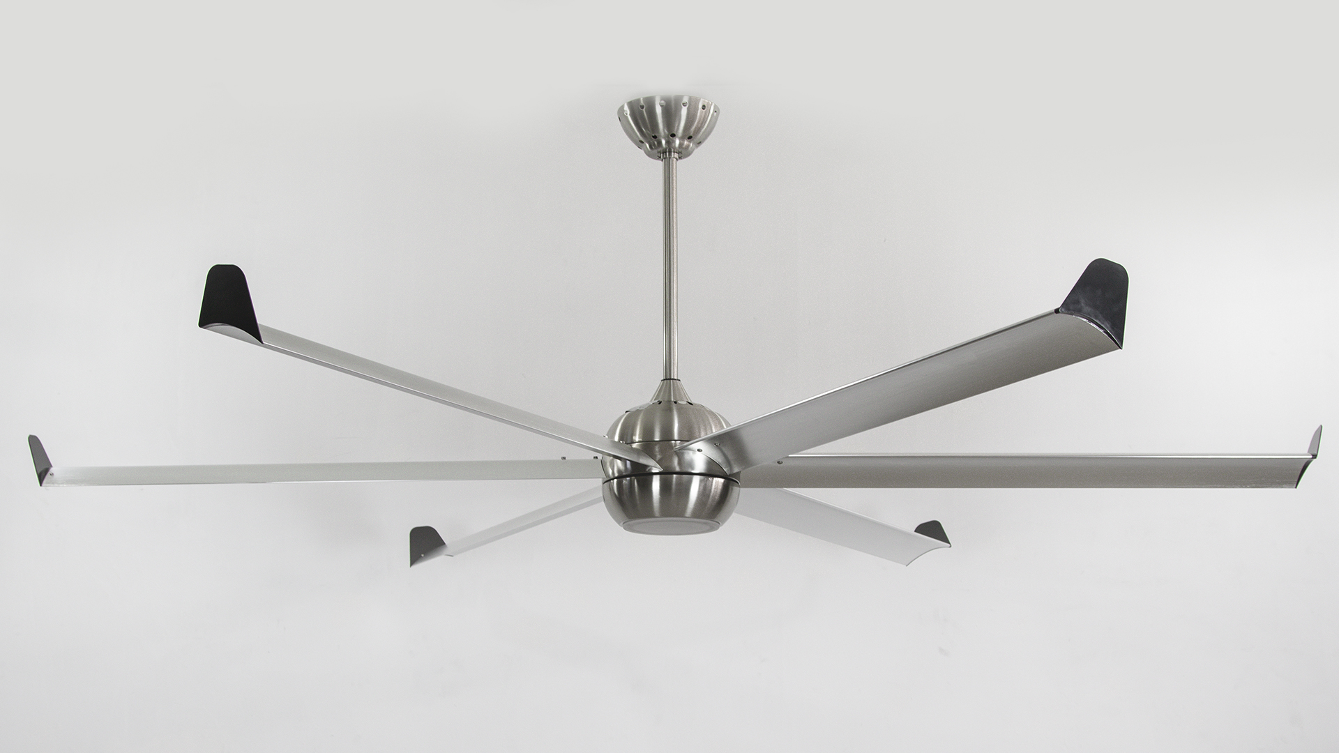 Profan Istanbul - Aluminum, With Light Ceiling Fan