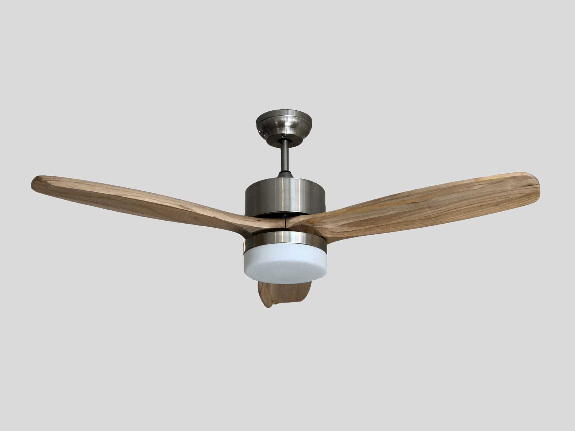 Alsanfan – Profan Modern - Light Brown With Lamp Ceiling Fan