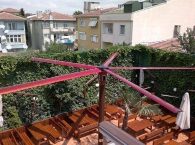 Profan İstanbul Direk Üstü Tavan Vantilatörü (Kafe)