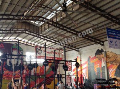 spor salonu havalandırması