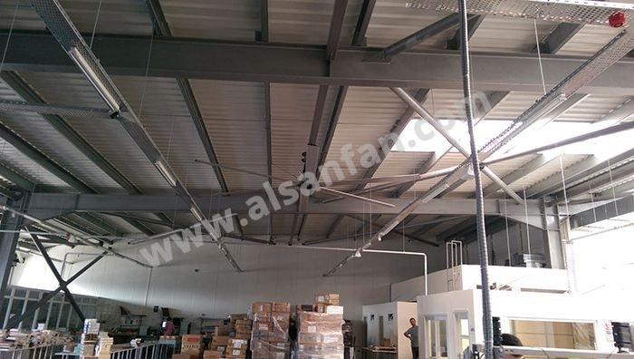 Industrial areas alsanfan industrial warehouse ceiling fans applications industrial warehouse hvls fans applications aloadofball Choice Image