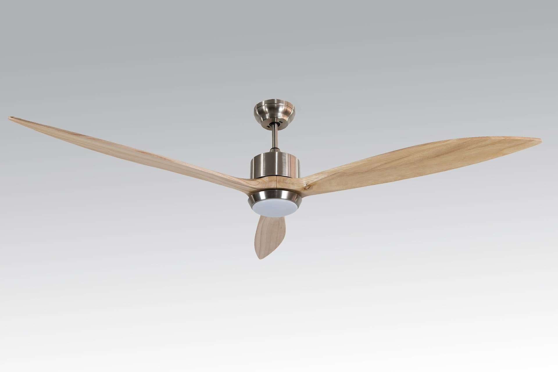 Alsanfan – Profan Daisy - Light Brown, With Light Ceiling Fan