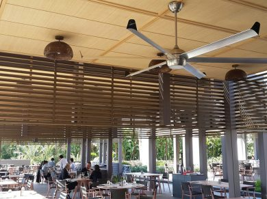 Profan Istanbul - Maxx Royal Restaurant Ceiling Fan 02