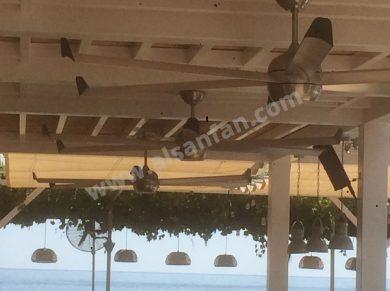 Profan Istanbul - Restaurant Ceiling Fan 06