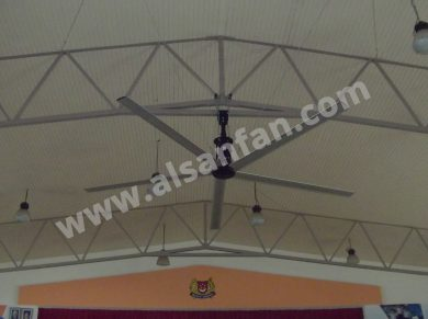 School Conference Hall big hvls fans