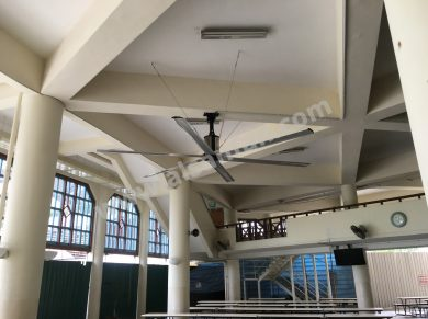 dining hall ceiling fan